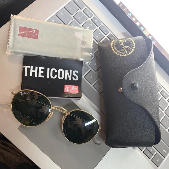 Ray-Ban Authentic Round Metal 3447